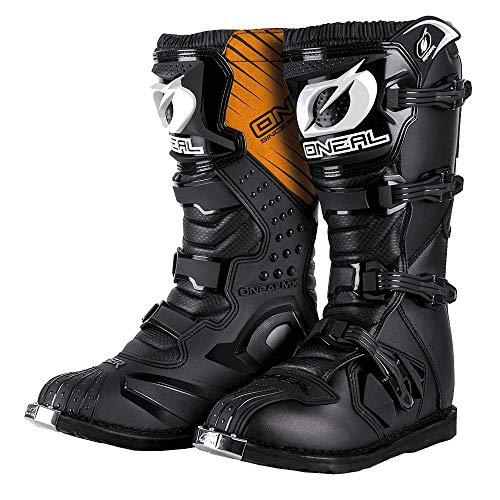 O'NEAL Rider MX Motocross Supermoto Motorrad Stiefel schwarz 2020: Größe: 9/42