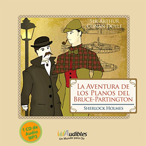 Sherlock Holmes: La Aventura de los Planos del Bruce-Partington [The Adventure of the Bruce-Partington Plans] audiobook cover art
