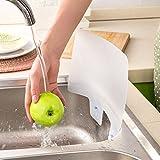 Baffle d'acqua per lavello, lavello da cucina, lavello per verdure, para-schizzi, con vent...