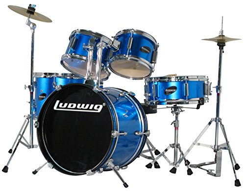 Ludwig 16B-8-10-13F-12S Junior Drum Set - Blue
