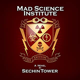 Mad Science Institute audiobook cover art