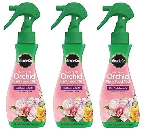 Scotts Miracle-Gro Orchid Plant Food Mist (Orchid Fertilizer), 8 oz. (3 Pack 8 oz)