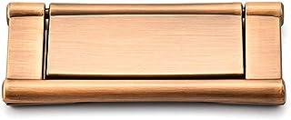 WENYAO Tirador de Anillo al RAS Tirador de manija Invisible para cajón de herrajes horizontales para gabinetes de Cocina ...