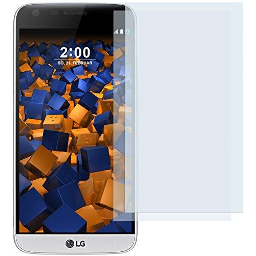 mumbi Schutzfolie kompatibel mit LG G5 Folie klar, Displayschutzfolie (2X)