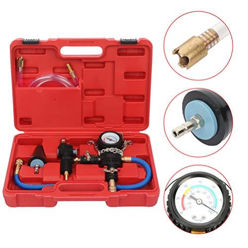 Buy Discount Car Water Tank Leak Detector Pressure System Tester Radiator Pressure Gauge Air Pump De...