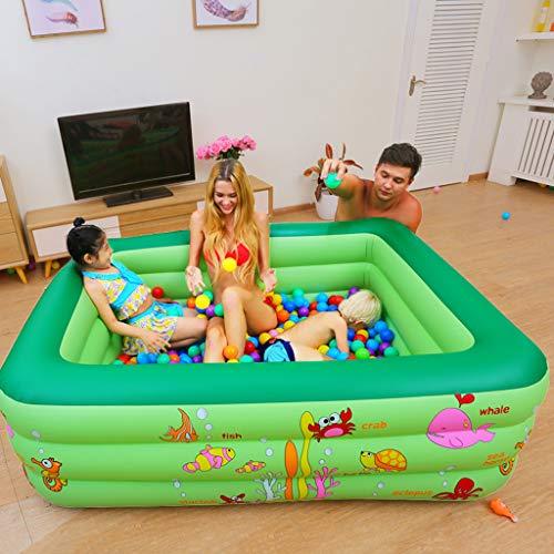 Wenjuersty - Bañera hinchable para niños y adultos