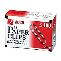 Acco経済用紙クリップ