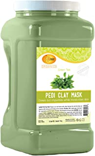Spa Redi Pedi Clay Mask (Green Tea, 1 Gallon)