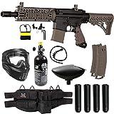 Maddog Tippmann TMC MAGFED Silver HPA Paintball Gun Marker Starter Kit - Tan