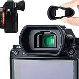 アイカップ 接眼レンズ 延長型 Sony A7RIV A7RIII A7RII A7III A7II A7 A7R A7S A7SII A9II A9 A58 A99II 対応 FDA-EP18 アイピース 互換