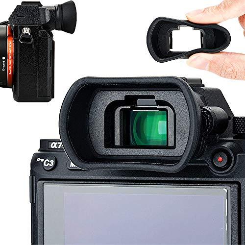 Soft Silicon Camera Viewfinder Eyecup Eyepiece Eyeshade for Sony A7 A7II A7III A7R A7RII A7RIII A7S A7SII A9 A58 A99II Eye Cup Protector Replaces Sony FDA-EP18 FDA-EP16 FDA-EP15
