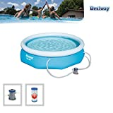 Zoom IMG-1 bestway piscine gonflable hors sol