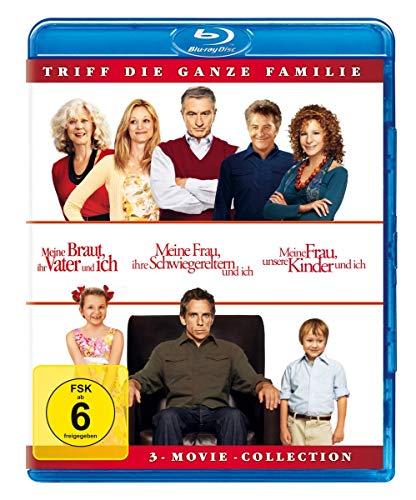 Meine Braut, ihr Vater und ich / Meine Frau, ihre Schwiegereltern und ich / Meine Frau, unsere Kinder und ich [Blu-ray]