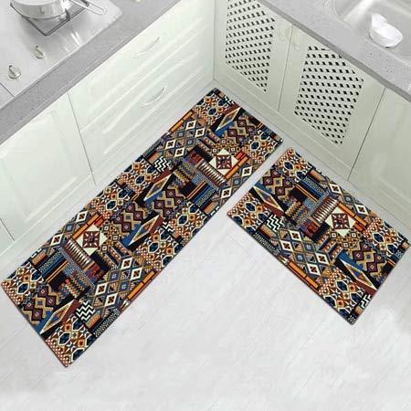 OPLJ Alfombrilla de Cocina Alfombrillas Antideslizantes para Sala de Estar Balcón Alfombra de baño Alfombra de baño Alfombrillas de baño Tapete de Dormitorio A4 50x160cm