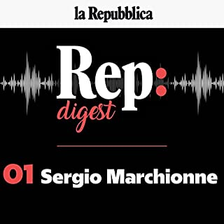 Sergio Marchionne copertina