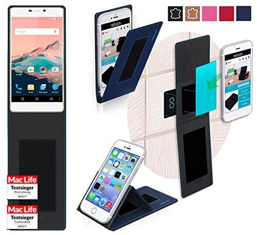 reboon Hülle für Allview X2 Soul Pro Tasche Cover Case Bumper | Blau | Testsieger