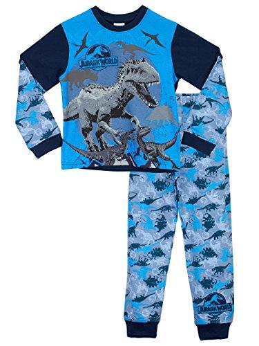 Jurassic World Jungen Schlafanzug Mehrfarbig 128