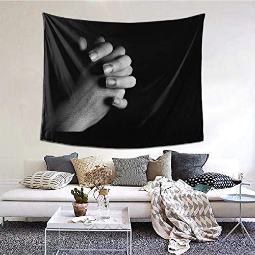 XIAOQIU Pray for The World Coron-avirus Tapestry 6051inch Beautiful Tapestry Indoor Tapestries The Bedroom Tapestry