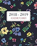 2018-2019 Academic Planner: Monthly and...