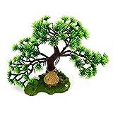 Árbol bonsái decorativo para acuario, decoración de resina de pino artificial, decoración de plástico, plantas de jardín, bonsáis, árboles, accesorios
