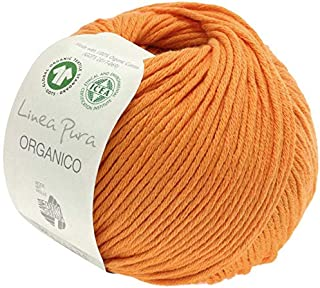 Lana Grossa - Organico - Fb. 99 Orange 50 g