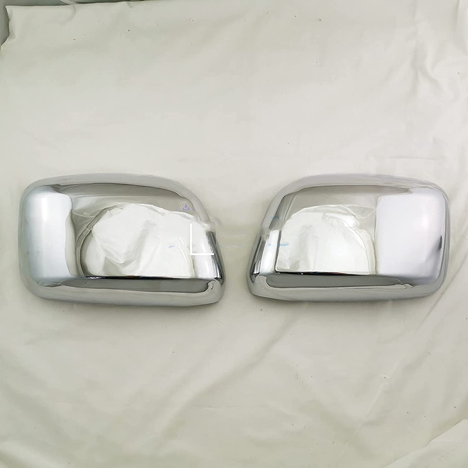 ASHDelk Door Mirror Cover Rearview Overlay Caps View Milwaukee Mall Max 56% OFF Rear S Side