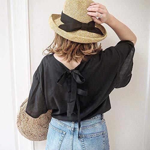 帽子レディース麦わら帽子むぎわら帽子夏夏帽子ハットキャップ日焼けuvカット14+イチヨンプラスイチヨン14プラスihat0136-ca