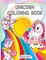 Unicorn Coloring Book for Kids: Amazing Unicorn Coloring Book for Kids 4-8 years old/100 pages for coloring and having fun