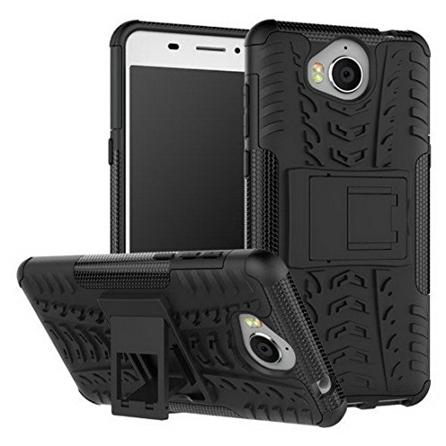 Huawei Y5 2017 Case,Heavy Duty Dual Layer Shockproof Impact Resistance Hybrid Rugged Cover Shell 5.0 Inch