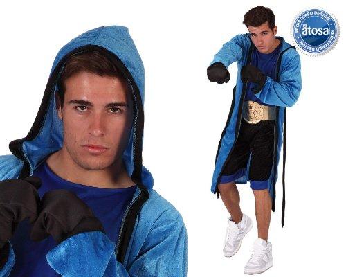 Atosa-6083 Disfraz Boxeador, Color azul, M-L (111-6083)