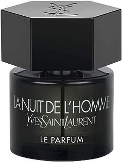 Yves Saint Laurent La Nuit De L'Homme Ysl Le Parfum Eau De Parfum Spray for Men, 2 Ounce