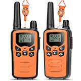 Best Walkie Talkies for Kids - 5 Miles Long Range Toys Birthday Gift for 3-12 Year Old Boys Girls, 22 Channels 2 Way...