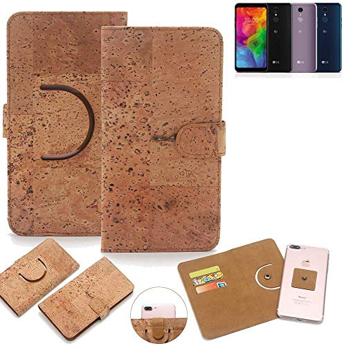 K-S-Trade® Handy Schutz Hülle Für LG Electronics Q7 Alfa Korkhülle 1x