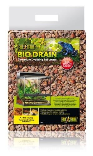 Exo Terra PT3115 Terrarium Substrat Bio Drain für Wasserdränagesystem, 2 kg
