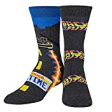 Odd Sox, Unisex, Movies, Back to the Future Outatime, Crew Socks, Cool Fun 80's