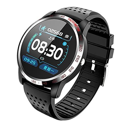 Lazzzgua Reloj Inteligente con Pantalla táctil de 1.3 Pulgadas para Hombres, IP67, Impermeable, Llamada Bluetooth, Reloj Inteligente, Pulsera, Reloj de Seguimiento de Actividad física