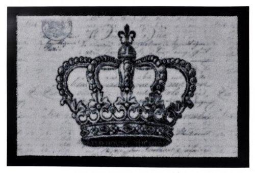 Fußmatte King's Crown, Größen:40x60