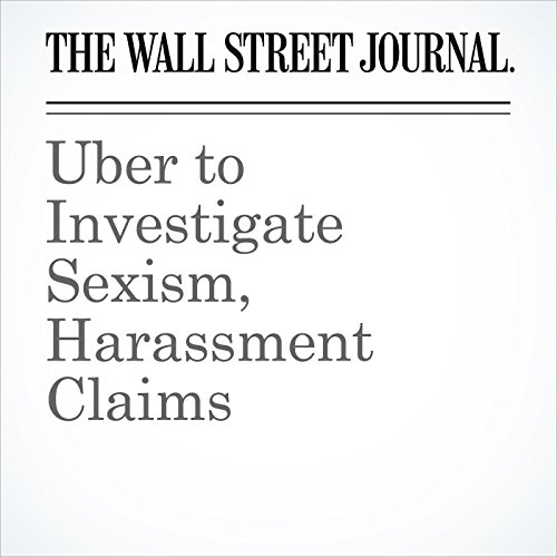 Uber to Investigate Sexism, Harassment Claims copertina
