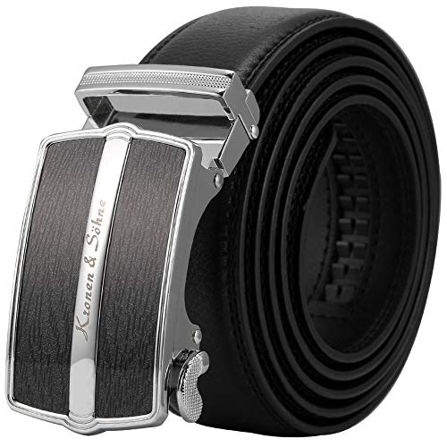 anyilon Korean Fashion Soft Leather Belts for Men Male Jeans Decorative Metal Buckle Waist Bands Best Gifts black28