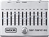 M 108S - Ecualizador de 10 bandas, color plateado