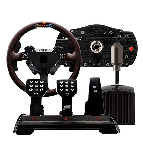 WSMLA 458 Spider Racing Wheel for Un Jeu Flight Joystick USB Vibration Ordinateur PC Simulation Flight Control Manipulateur, système Applicable Windows XP/Vista / 7/8/10