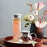 Villeroy & Boch Artesano Hot&Cold Beverages Glaskaraffe mit Deckel, Borosilikatglas - 2