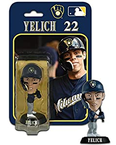 "Imports Dragon Christian Yelich (Milwaukee Brewers) 4"" MLB Bobble Head"