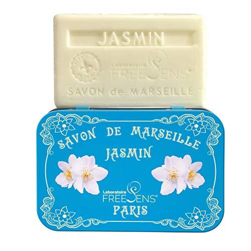FreeSens - SAVON DE MARSEILLE JASMIN Pain de 100g