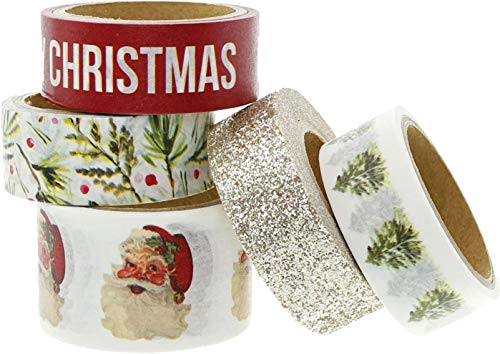 Teresa Collins, CS TC WASHI Tape, Christmas Story, Decorative Adhesive Tape, Santa