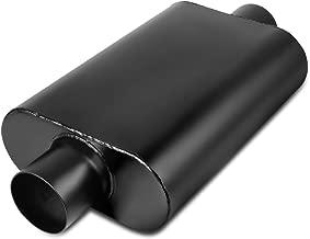 3 Inch Inside Inlet Muffler, AUTOSAVER88 Universal Stainless Steel Welded Exhaust Muffler Deep Sound for Cars, 20