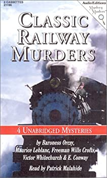 Classic Railway Murders : Four Unabridged Mysteries 157270196X Book Cover