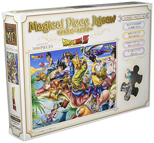 Magical pi?ce pi?ce de puzzle Dragon Ball Z 1000 Go Go Paradise 1000 MG01 (Japon import / Le paquet et le manuel sont ?crites en japonais)