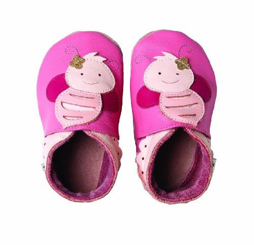 Bobux 460614, Pantofole Bimba, Rosa, M