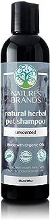 Herbal Choice Mari Natural Pet Shampoo, Unscented; 8floz, Made with Organic